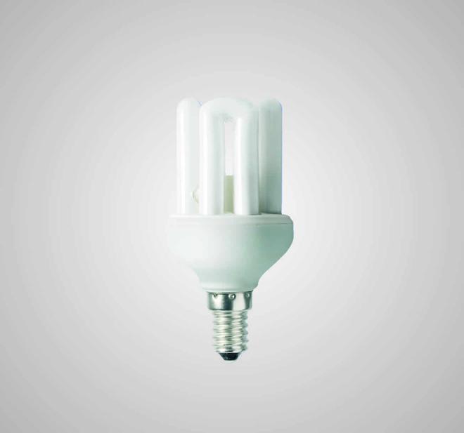 Úsporná kompaktní zářivka ECOLINES (ECO-4M 9W)