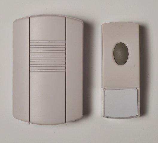 Bezdrátový bateriový zvonek SC320
