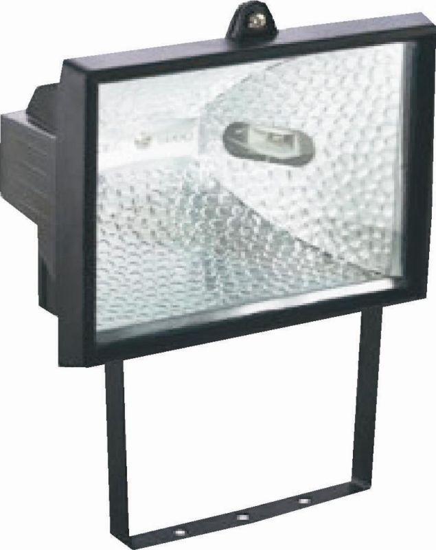 Halogen - Halogenový reflektor nástěnný - vana 500W (barva černá)