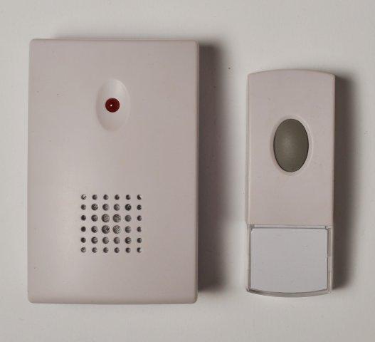 Bezdrátový bateriový zvonek SC302